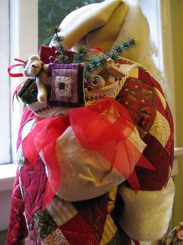 Santa's sack of toys