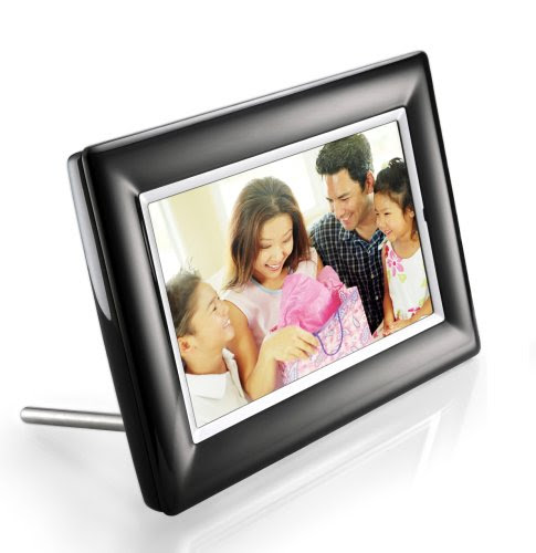 Digital Frames Philips 7 Inch Lcd Digital Photo Frame Black