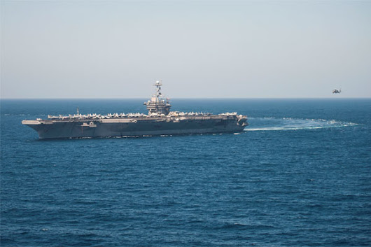 USS Truman Begins Airstrikes Against Islamic State