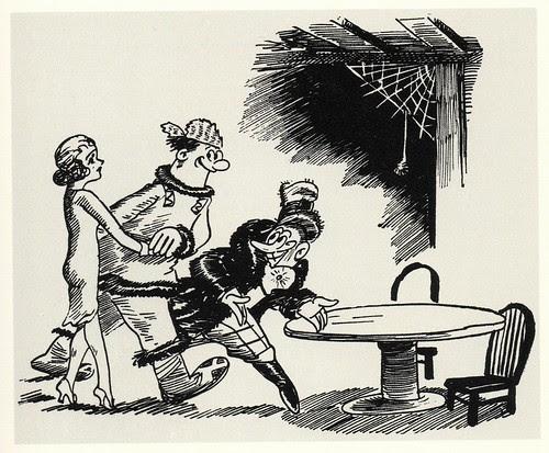 Graphic Novel illustration by Milt Gross