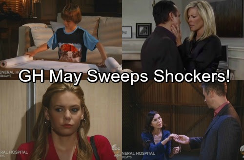General Hospital Spoilers: May Sweeps Shockers – Unraveling Mysteries, Destructive Paths and Life-Threatening Situations | Celeb Dirty Laundry