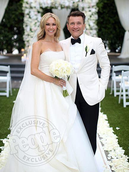 DWTS' Kym Johnson and Robert Herjavec Get Married : People.com