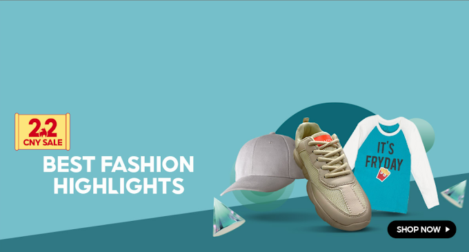 Best Fashion Highlight up to 52% OFF at Shopee.