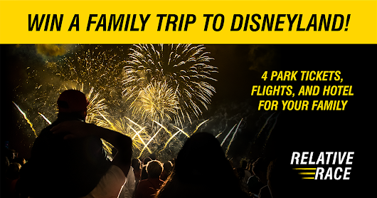 Win A Family Trip To Disneyland!