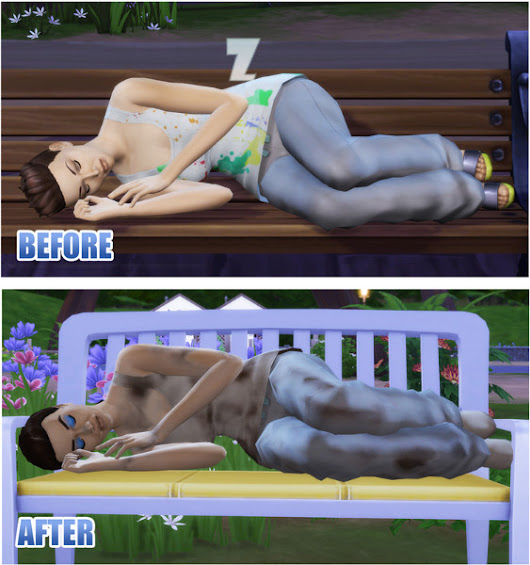 SunsetSims: Homeless More Realists Default