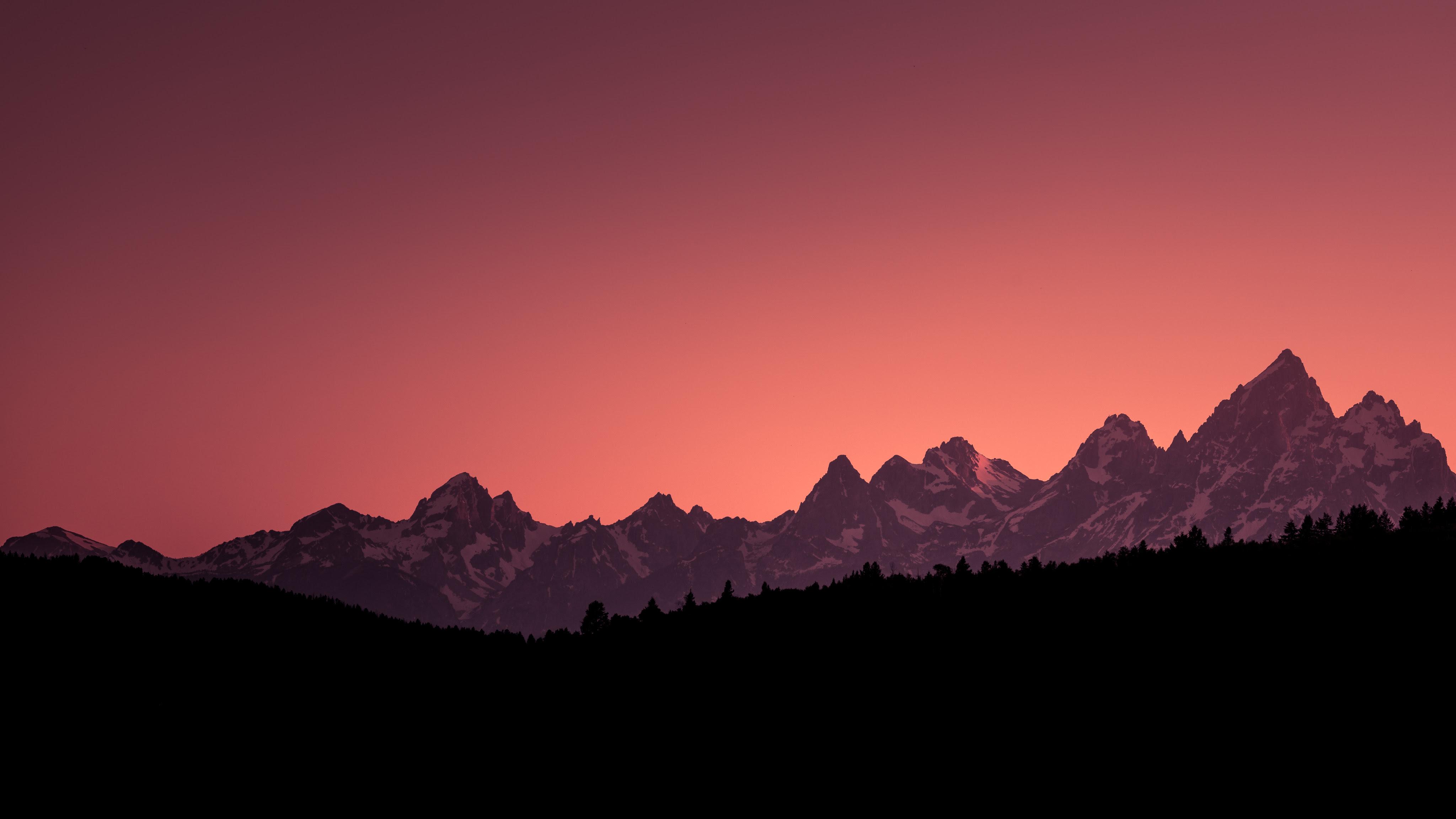 Grand Teton National Park Sunset 4k Wallpapers Hd Wallpapers