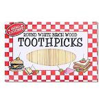 Kole Ht876 Round Toothpicks, Regular