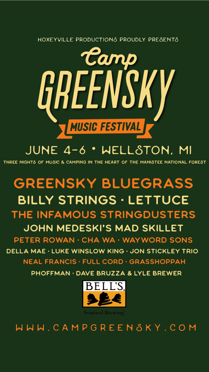 Camp Greensky Confirms 2020 Lineup: GSBG, Billy Strings, Lettuce and More