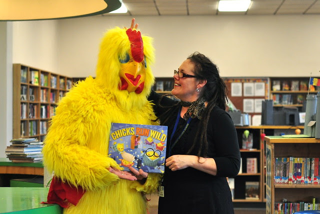 The Librarian & The Chicken
