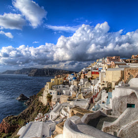 Winter in Santorini by Nikola Totuhov (to2hov) on 500px.com