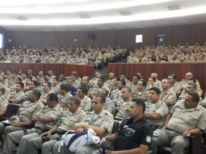 Polícia Militar prepara esquema de segurança do carnaval de Petrolina (Foto: Divulgação / Polícia Militar de Petrolina)