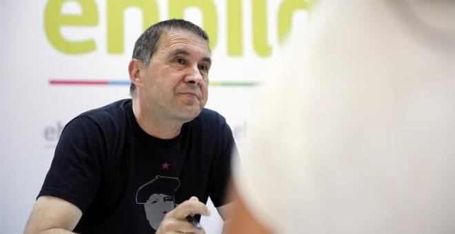 El candidato a lehendakari de EH Bildu, Arnaldo Otegi.- EFE/LUIS TEJIDO