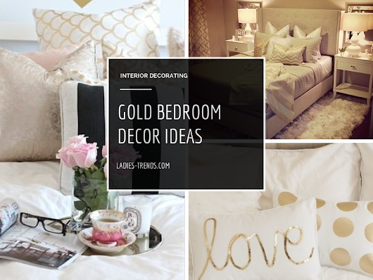Golden Bedroom Decor Ideas