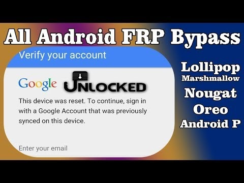 How To Bypass Google Account Verification After Reset Android
