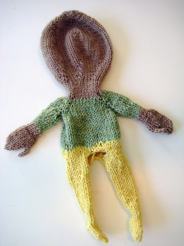 doll, unfelted