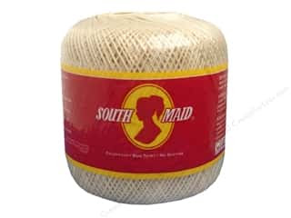 South Maid Crochet Cotton Thread Size 10 #429 Ecru