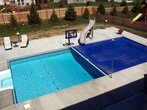 How Automatic Pool Covers Help With Water Evaporation - All-Safe Pool Fence & Covers