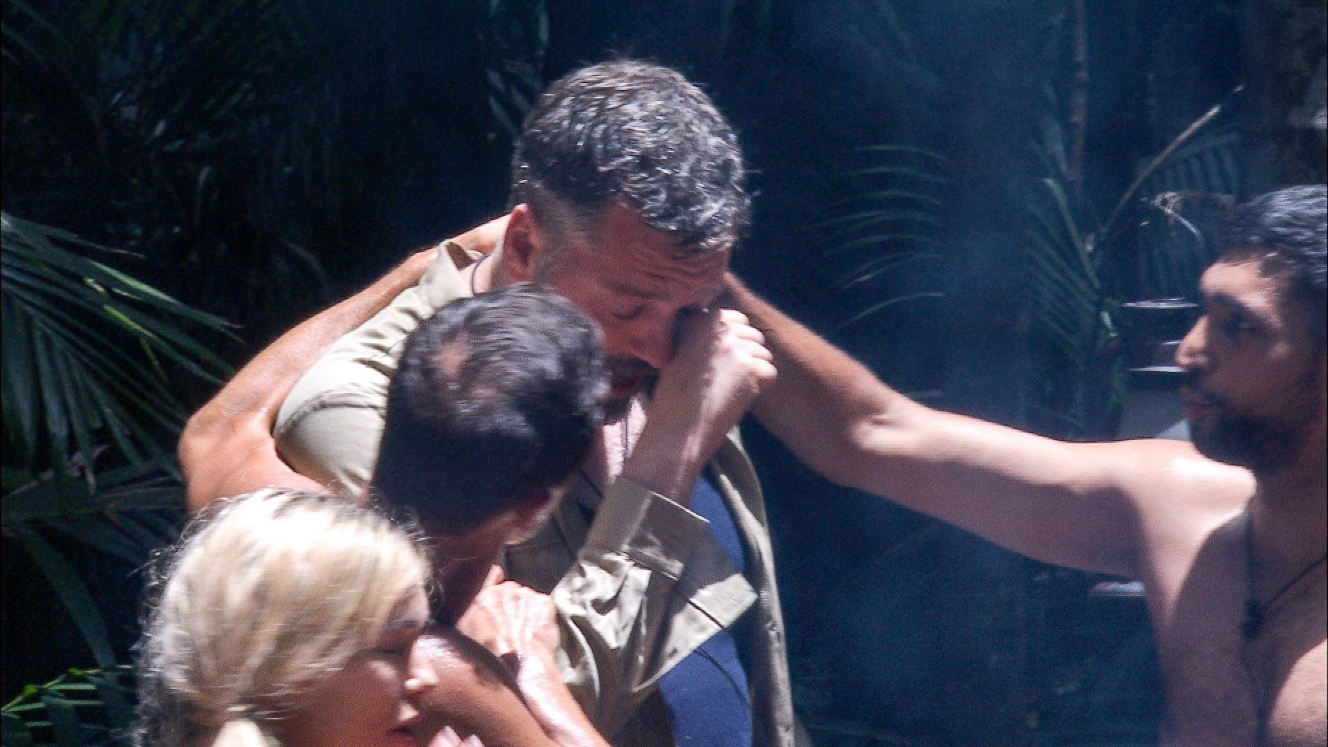 <strong>Iain broke down in tears after one Bushtucker Trial</strong>