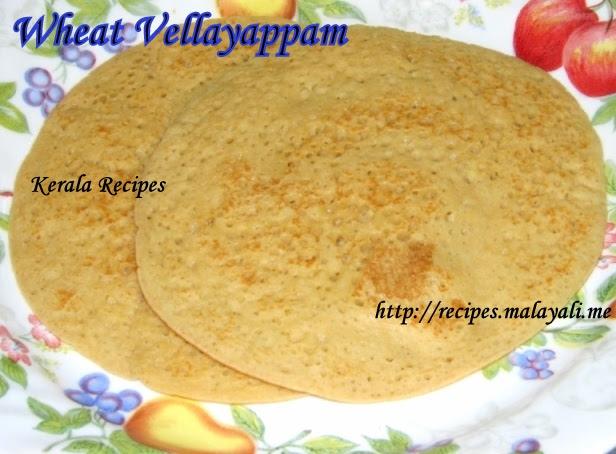 Godhambu Vellayappam (Fermented Wheat Pancakes) - Kerala ...