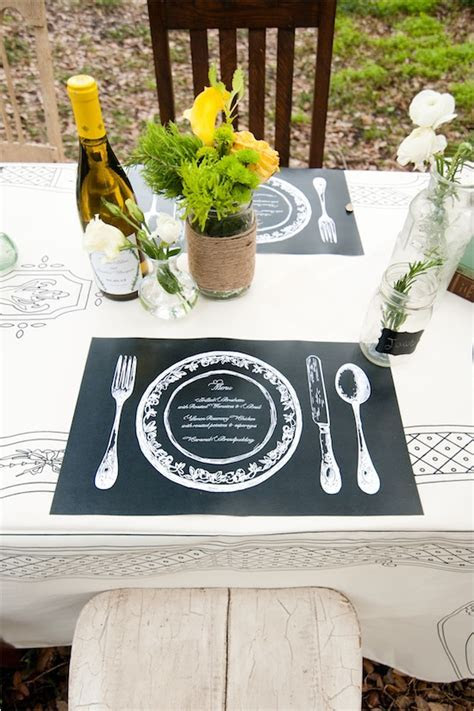 Cute Table Menu Ideas for Your Wedding