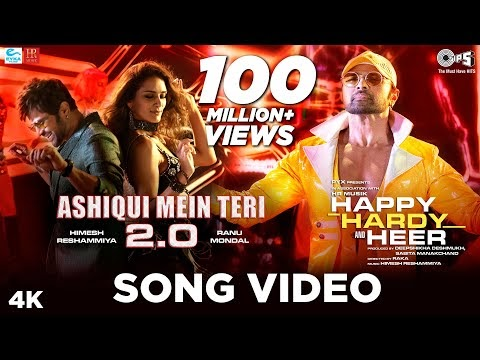 Ashiqui Mein Teri 2.0  Song Lyrics  - Happy Hardy And Heer |