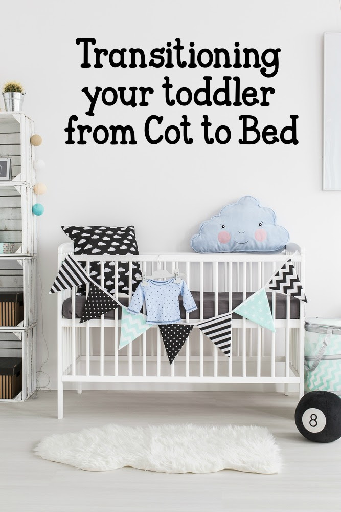 tips on transitioning your toddler from cot to bed