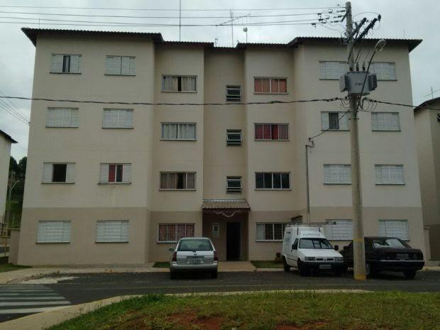 Criança caiu do 3º andar (Foto: César Evaristo / TV TEM)
