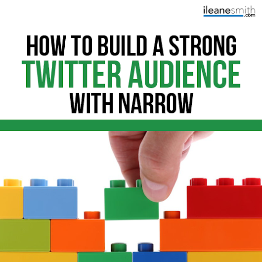 How to Build a Strong Twitter Following - Ileane Smith