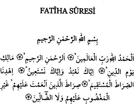 fatiha suresi oku