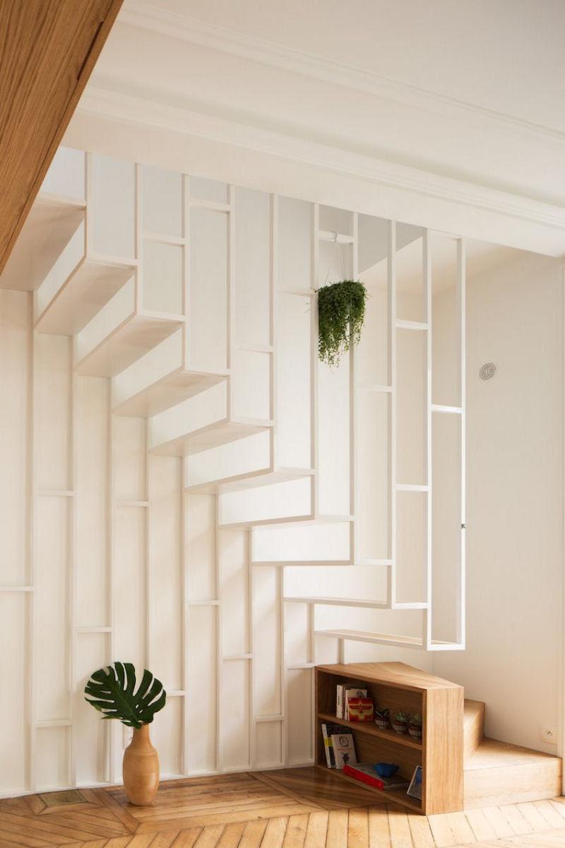 Escadas incrivelmente projetadas que estão um degrau acima das demais 23