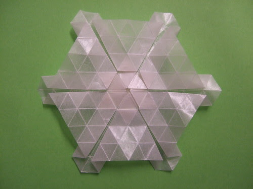 tessellation star back-/frontside