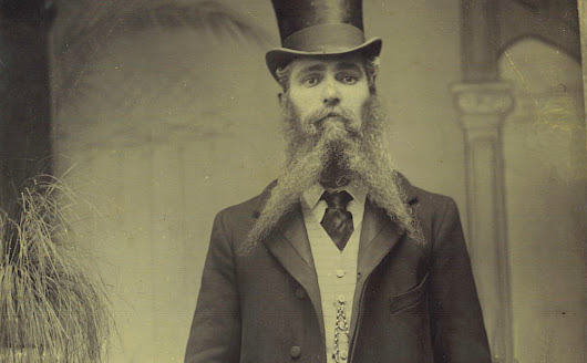 Why Victorian Men Had Glorious Beards