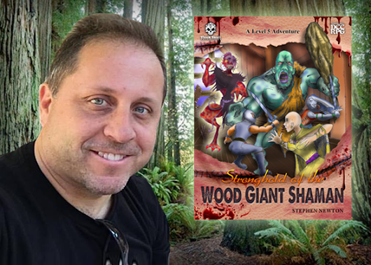 Community Publisher Profile: Stronghold of the Wood Giant Shaman|Goodman Games