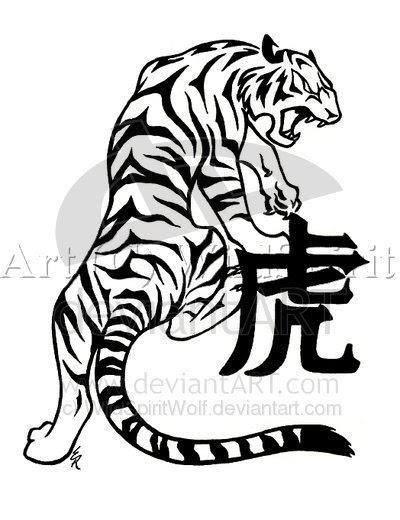 Tattoo Selection 2011 Tiger Dragon Tattoo 400x333 Tiger Dragon
