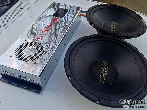 Dodge Charger Huge Bass Car Stereo Installation with Orion ...  Old School Car Audio Installs