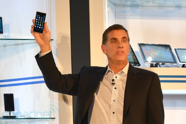 Intel shows Merrifield reference phone
