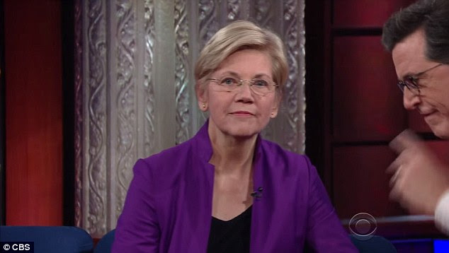 Massachusetts Sen. Elizabeth Warren told Stephen Colbert Thursday night she 'probably' wasn't the VP pick. While liberals loved her, she brought neither foreign policy experience nor a swing state to the ticket