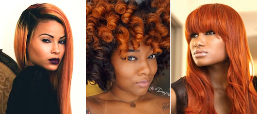 23 Pumpkin-Spiced Hairstyles For Those Daring to Go Orange