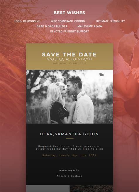Wedding Invitation Card Email Template: Buy Premium