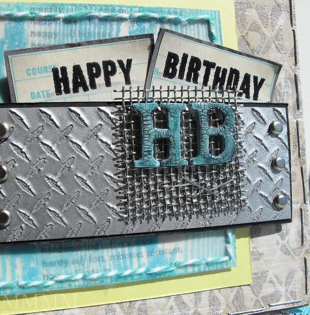 Skipping Stones Designs dude HB detail