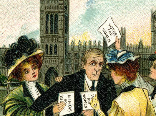 Take a Suffragette tour of the Houses of Parliament - Discover Britain