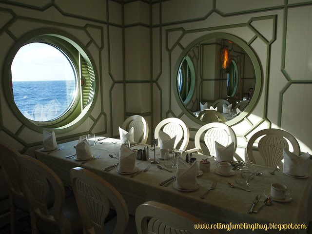 Enchanted Garden - Disney Fantasy Cruise Line