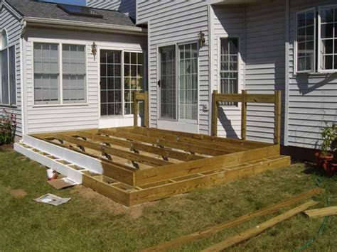 floating deck plans home planning ideas