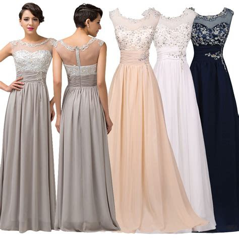 gh dress wedding long bridesmaid prom party evening gown