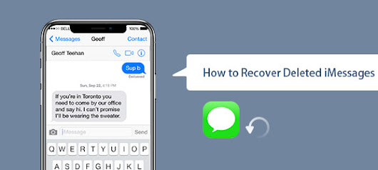 How to Recover Deleted iMessages from iPhone/iPad
