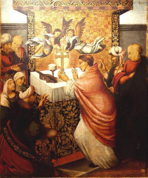 Resultado de imagen de aparicion de la santa cruz en  caravaca