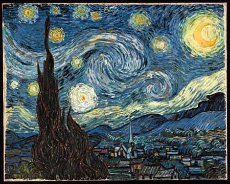 Vincent van Gogh, The starry
