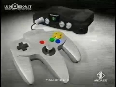 Nintendo 64 - E' Arrivato - Spot #2 (1997)