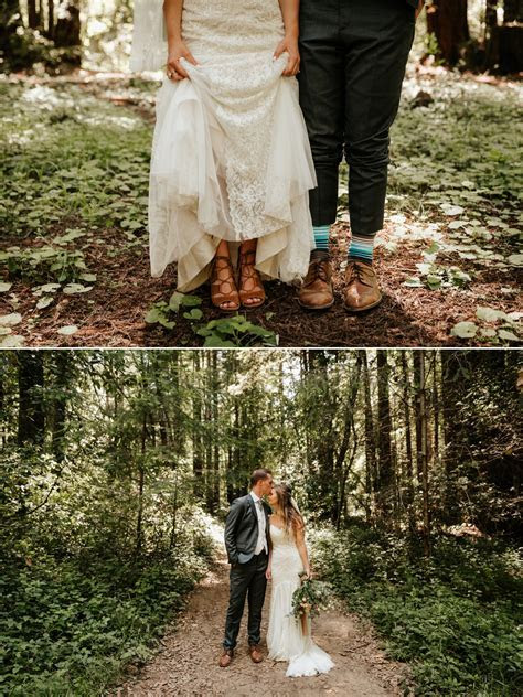 Intimate Wedding at Henry Cowell Redwoods   Paige Nelson