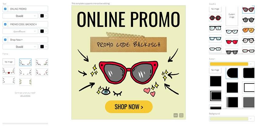 Contoh Banner Toko Online Shop - desain banner kekinian